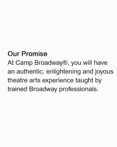 Camp Broadway | Broadway's Original Destination for Theater