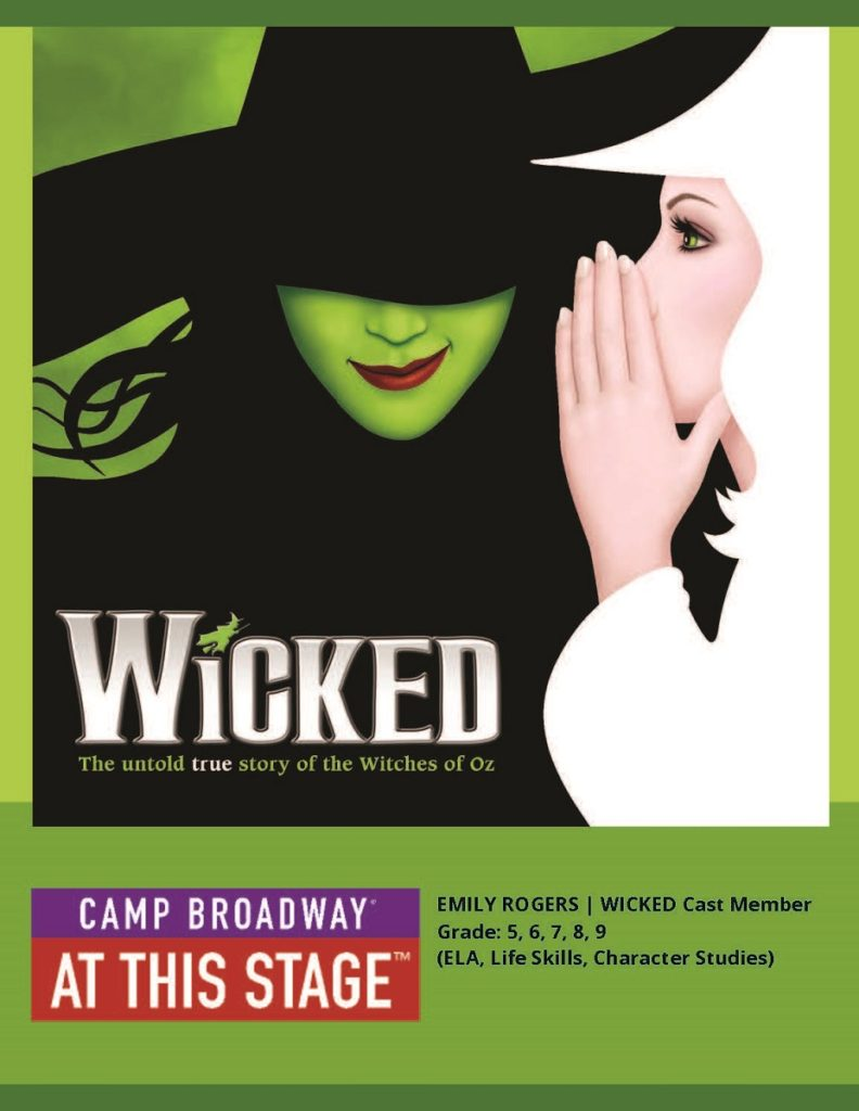 wicked for our theatre workshop