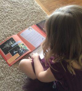 A CB Rialto Reader for our online book club