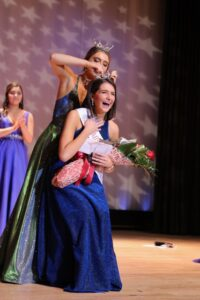 Ericka in a pageant- Building confidence